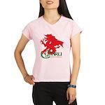 Cymru Draig Performance Dry T-Shirt