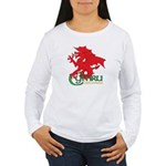 Cymru Draig Women's Long Sleeve T-Shirt
