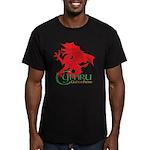 Cymru Draig Men's Fitted T-Shirt (dark)