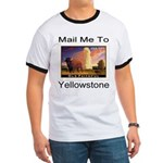 Mail Me To Yellowstone Ringer T