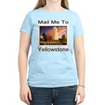 Mail Me To Yellowstone Women's Light T-Shirt