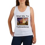Mail Me To Yellowstone Women's Tank Top