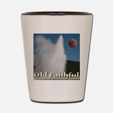 Old Faithful Red Moon Shot Glass