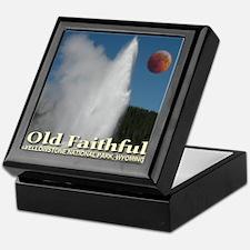Old Faithful Red Moon Keepsake Box