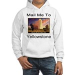 Mail Me To Yellowstone Hooded Sweatshirt