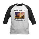 Mail Me To Yellowstone Kids Baseball Jersey