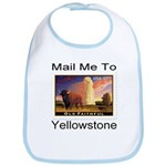 Mail Me To Yellowstone Bib