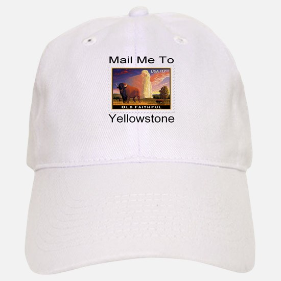 Mail Me To Yellowstone Baseball Baseball Cap