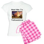 Mail Me To Yellowstone Women's Light Pajamas