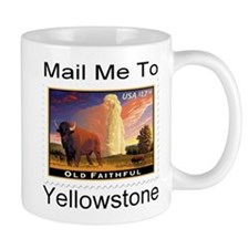 Mail Me To Yellowstone Mug