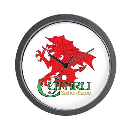 Cymru Draig Home & Office Wall Clock