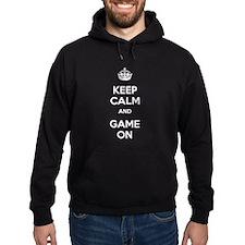Keep Calm and Game On Hoodie