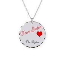Team Stefan Necklace Circle Charm