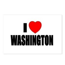 Unique Washington state cougars Postcards (Package of 8)