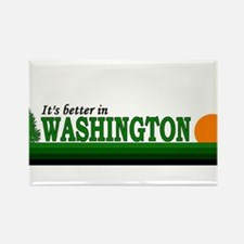 Cool Washington state cougars Rectangle Magnet
