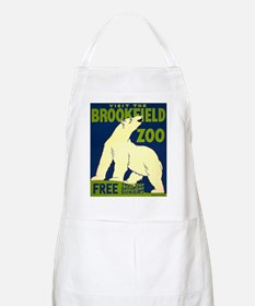 Brookfield Zoo Chicago BBQ Apron