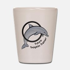 Future Dolphin Trainer Shot Glass