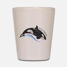 Orca Trainer Shot Glass