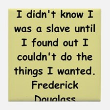 frederick douglass gifts and Tile Coaster