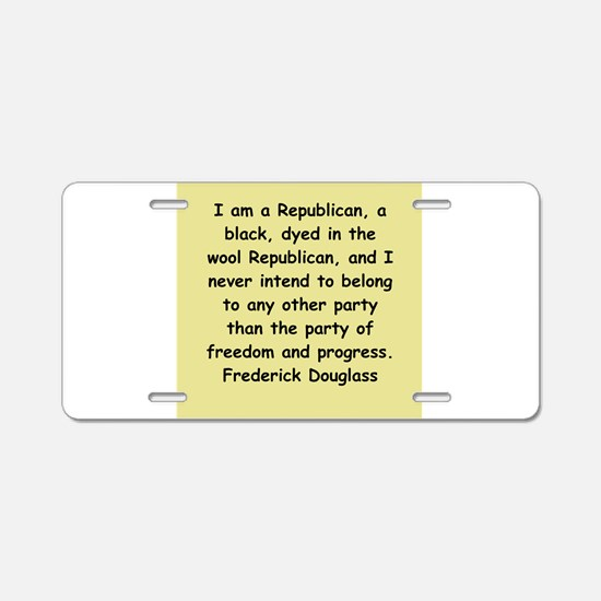 frederick douglass gifts and Aluminum License Plat