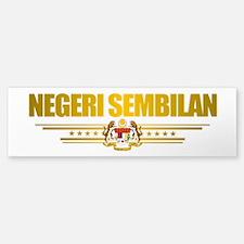 """""""Negeri Sembilan"""" Bumper Bumper Sticker"""
