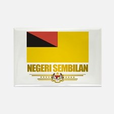 """Negeri Sembilan"" Rectangle Magnet"