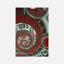 Spiral Staircase Rectangle Magnet