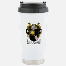 Brady Coat of Arms Stainless Steel Travel Mug