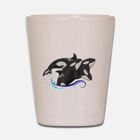 Orca Triple Jump Shot Glass