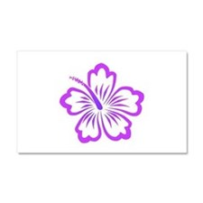 Purple Hibiscus Car Magnet 20 x 12