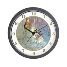 Alice in The Pool of Tears Wall Clock