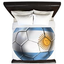 Argentina Football King Duvet