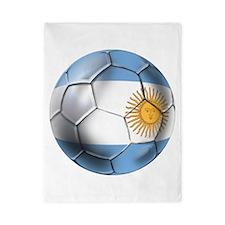 Argentina Football Twin Duvet
