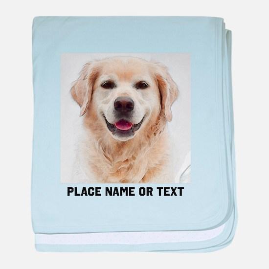 Dog Photo Customized baby blanket