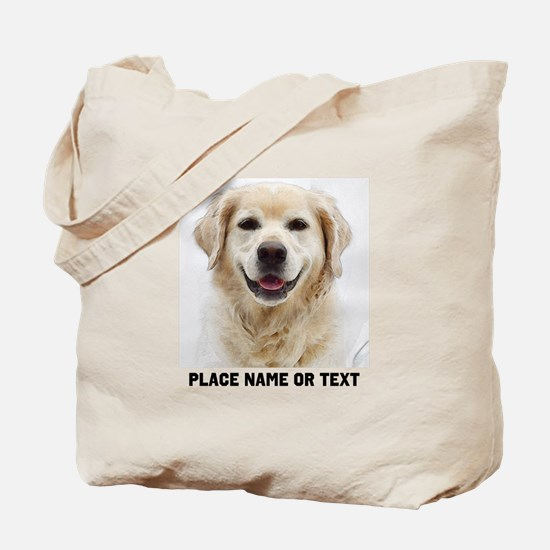 Dog Photo Customized Tote Bag