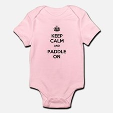 Keep Calm and Paddle On Infant Bodysuit