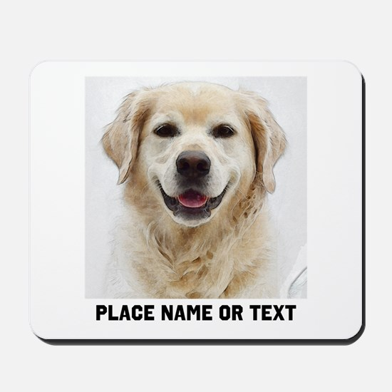 Dog Photo Customized Mousepad
