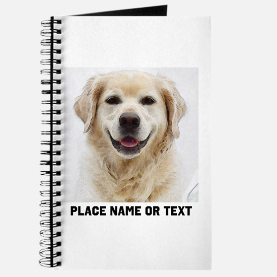 Dog Photo Customized Journal