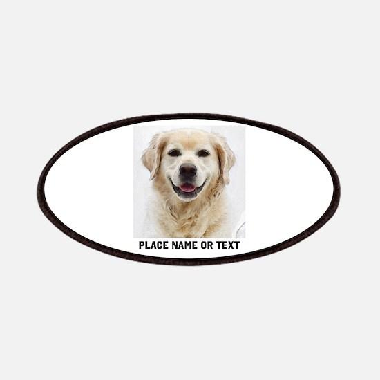 Dog Photo Customized Patch