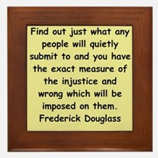 frederick douglass gifts and Framed Tile