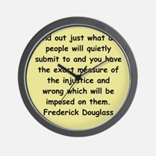 frederick douglass gifts and Wall Clock