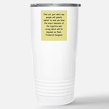 frederick douglass gifts and Travel Mug
