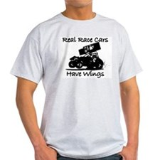 Real Race Cars Wings Sprint 7 T-Shirt