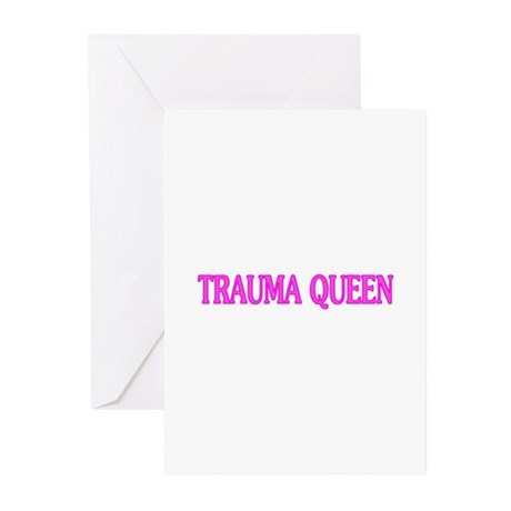 Trauma Queen Greeting Cards (Pk of 10)