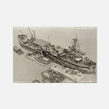 USS ASKARI Rectangle Magnet