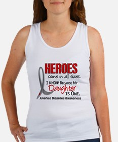 Heroes All Sizes Juv Diabetes Women's Tank Top
