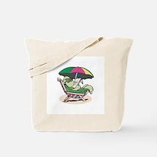 Suntanning Turle Tote Bag