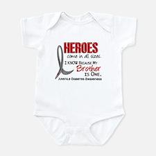 Heroes All Sizes Juv Diabetes Onesie