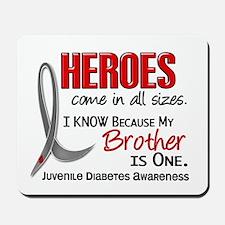 Heroes All Sizes Juv Diabetes Mousepad