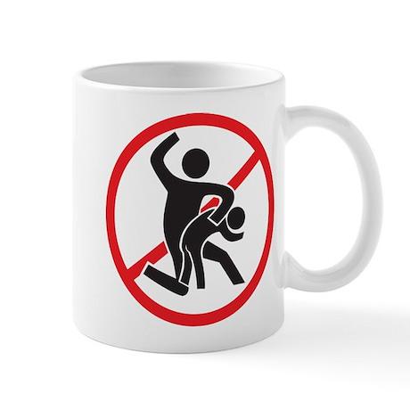 No Spanking Mug